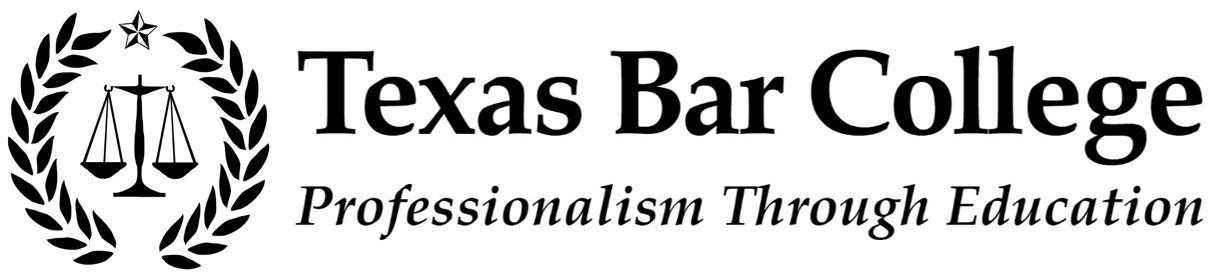 College Logo | Texas Bar College